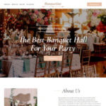 Banquet Hall Website Customization